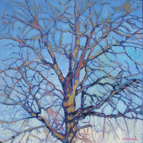 photo_tableau_Arbre bleu