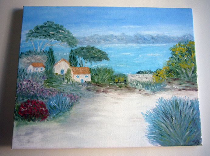 photo_tableau_Bord de mer