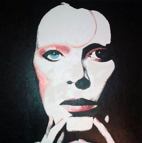 photo_tableau_Bowie fan de ....