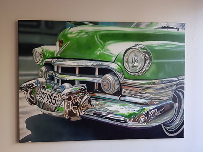 photo_tableau_Cadillac 1950