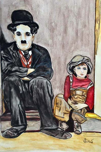 photo_tableau_Charlot et le Kid