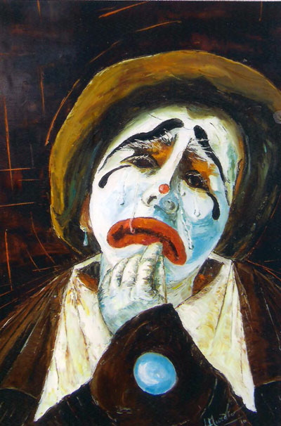 photo_tableau_clown triste