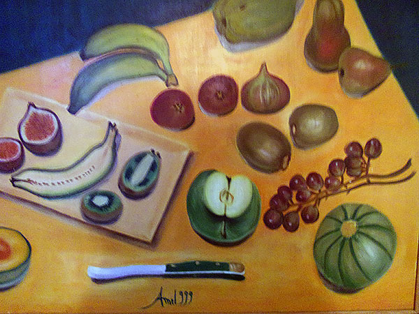 photo_tableau_Copposition Des fruits