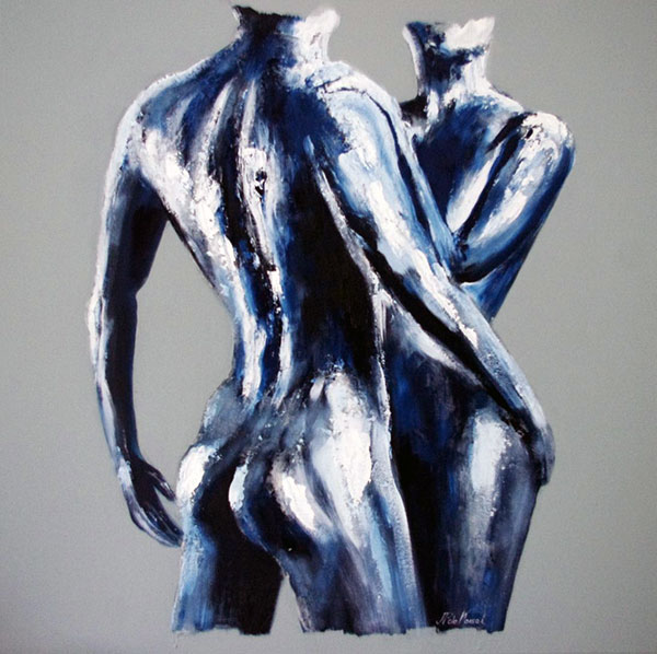 photo_tableau_couple bleu