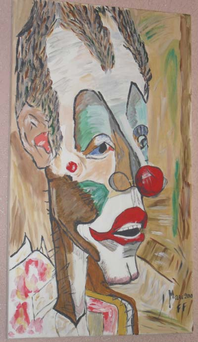 photo_tableau_drole de clown