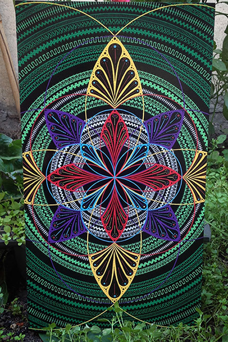 photo_tableau_Flower of life