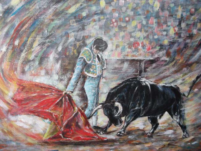 photo_tableau_la corrida...