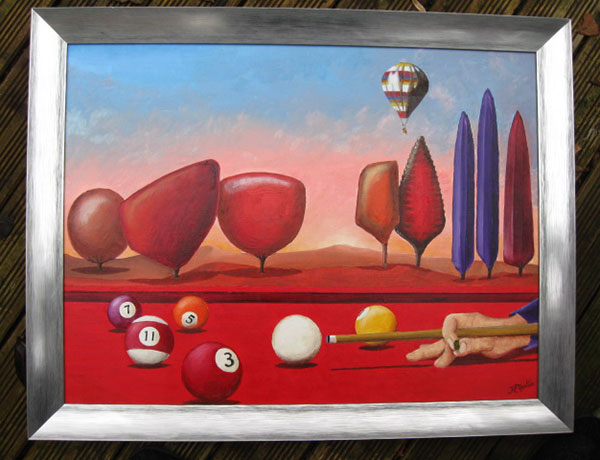 photo_tableau_le billard rouge