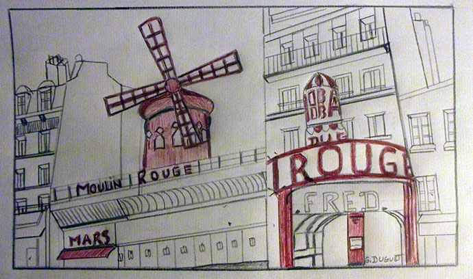 photo_tableau_Le Moulin Rouge