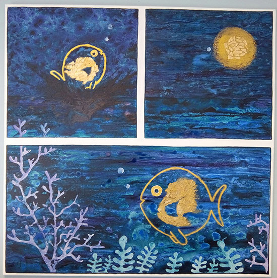 photo_tableau_Le poisson lune