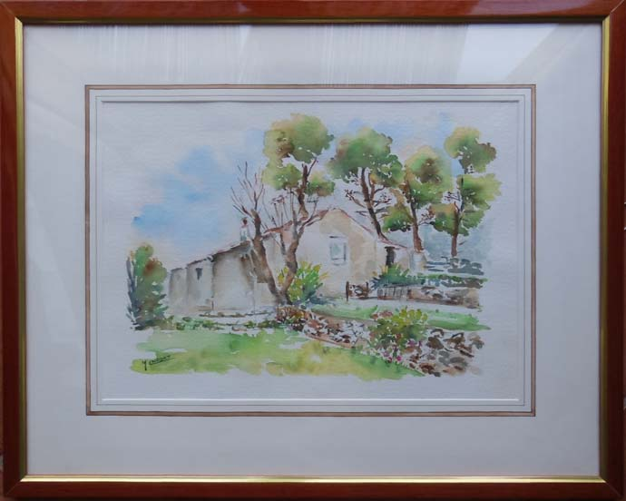 photo_tableau_Mas provençal aux restanques