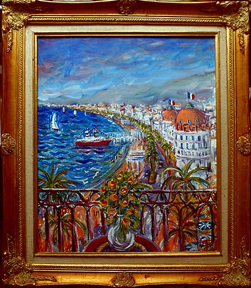 photo_tableau_Nice Baie des Anges