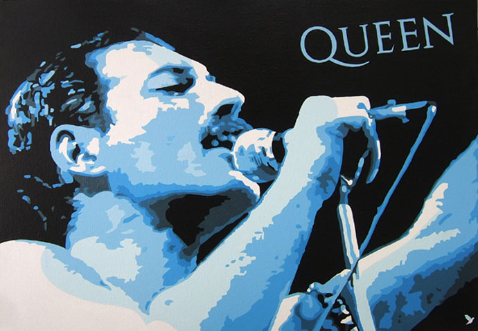 photo_tableau_QUEEN FREDDIE MERCURY