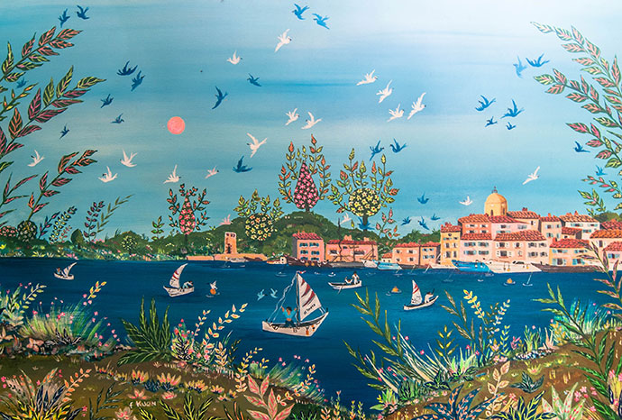 photo_tableau_Saint-Tropez