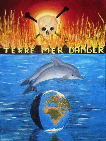 photo_tableau_terre, mer danger
