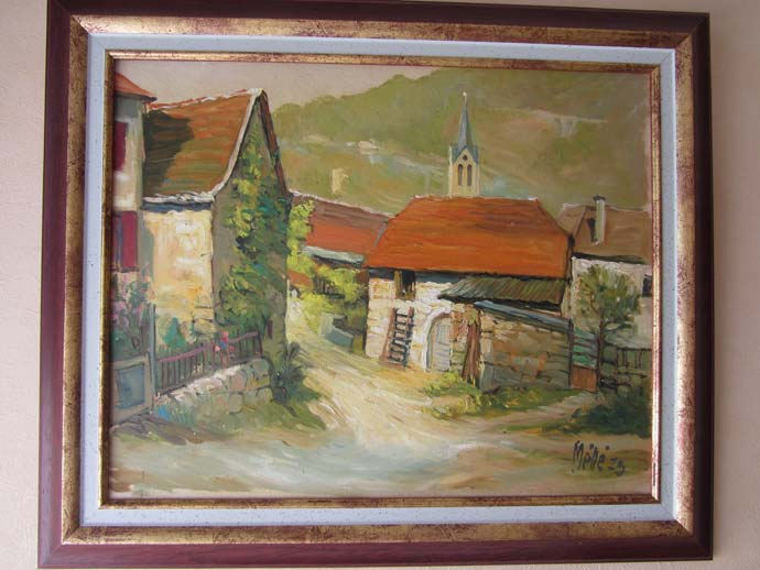 photo_tableau_Vieux village de la vallée du Lot