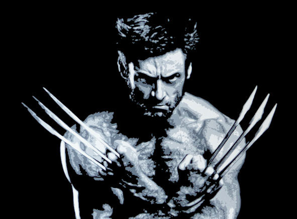 photo_tableau_Wolverine alias Hugh Jackman